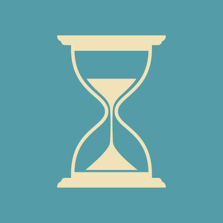 timepieces: Hourglass vector icon