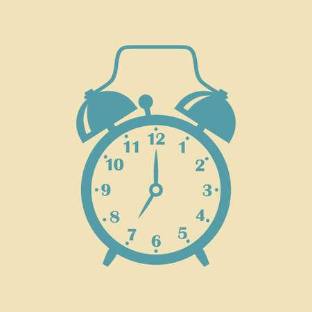 alarmclock: Alarm clock icon Illustration