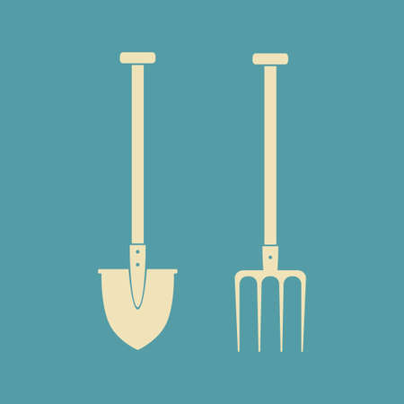 pitchfork: Spade and pitchfork