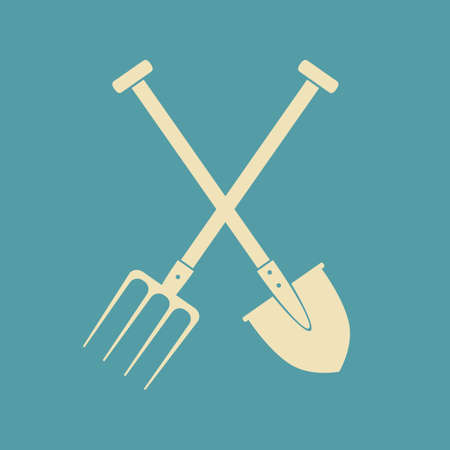 pitchfork: Spade and pitchfork
