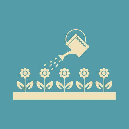 wateringcan: Garden vector icon