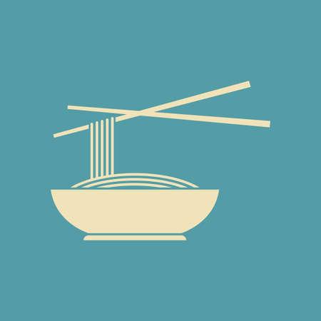 noodles: Noodles vector icon