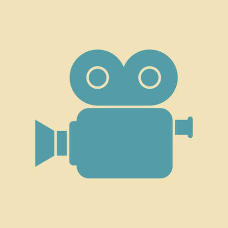 movie camera: Movie camera icon
