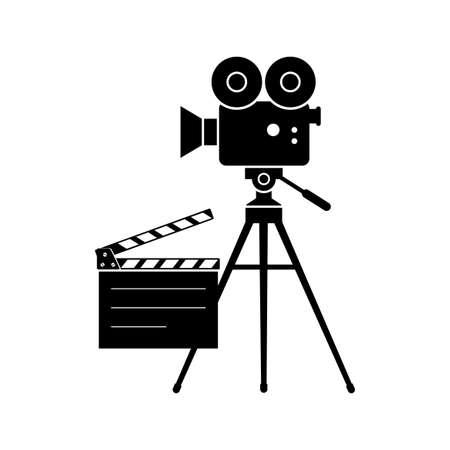 Movie camera icon Vetores