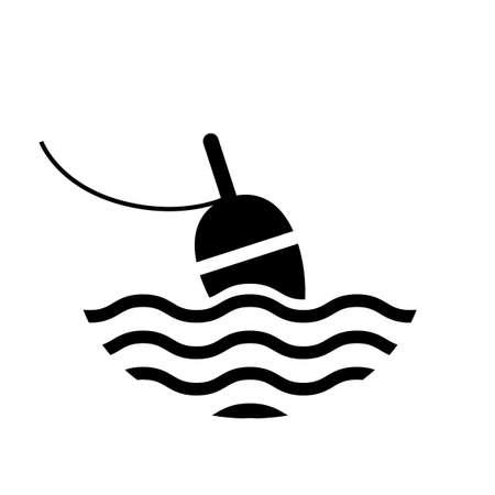 bobber: Fishing bobber icon