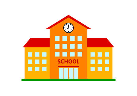 school: School icon Illustration