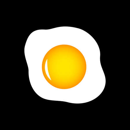 Egg vector icon Ilustrace