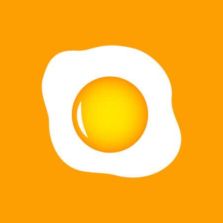 Egg vector icon Stock Illustratie