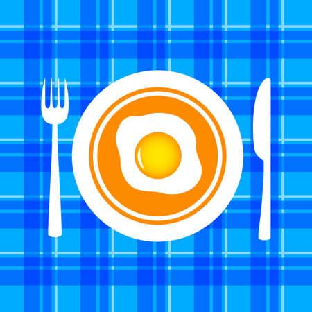 Egg vector icon Иллюстрация