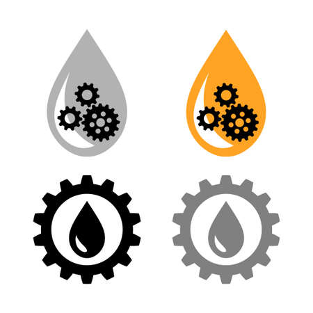 Industrial vector icon on white background Иллюстрация