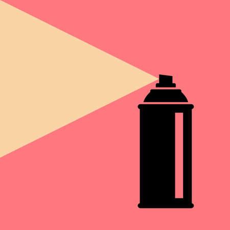 Spray can vector icon