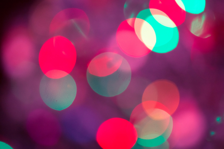 Abstract Bokeh blurred color light can use background. Colorful background with defocused lights Stock Photo - 93611165