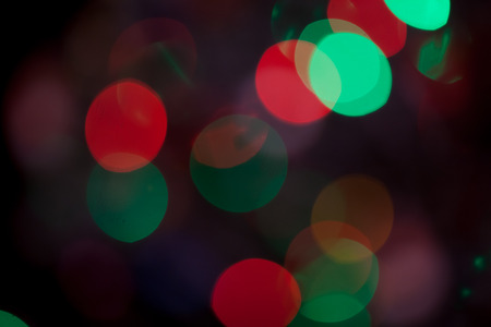 Abstract Bokeh blurred color light can use background. Colorful background with defocused lights Stock Photo - 93600615