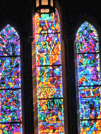 windows: stain glass window
