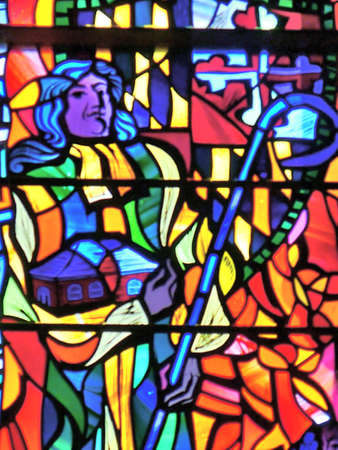 stained glass windows: stain glass window