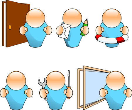 pane: People icons Illustration