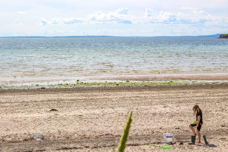 Orkney beach in Summer
