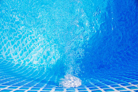 Swimming pool pipe technology. Water filtration.