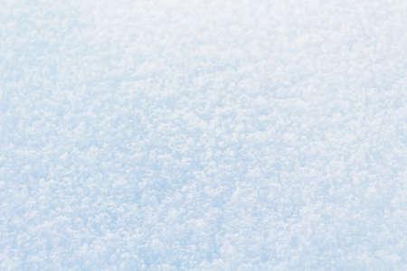White snow background. First snow. Winter background.