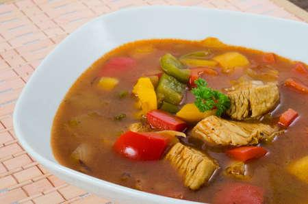 Goulash: Chicken goulash