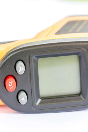 Digital non contact infrared thermometer Stock Photo