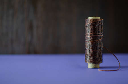 spool of thread, sewing and needlework accessories, multi-colored spools of thread for sewing clothes 스톡 콘텐츠