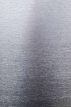 brushed stainless steel sheet, background for the project, space for text