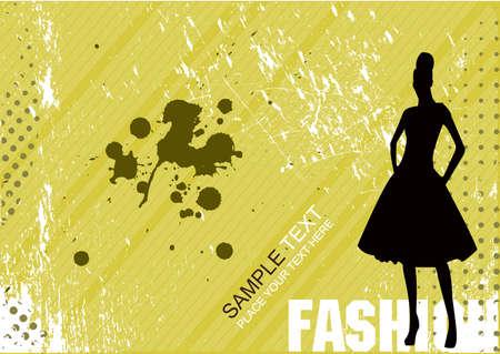 Vector fashion poster Stock Vector - 5627723