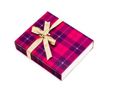Gift box isolated on white background Stock Photo - 8778450