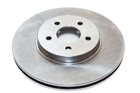 discs: New brake disc isolated on white background