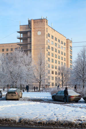 health facility: SAINT-PETERSBURG, RUSSIA - January 30: Alexander (Aleksandrovskaya) Hospital - urban health care facility, on January 30, 2012 in Saint-Petersburg, Russia. Editorial