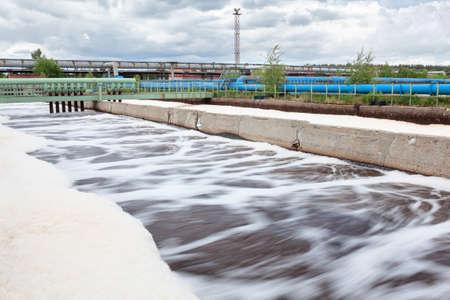 Volumes voor zuurstof beluchting in afvalwaterzuiveringsinstallatie Lange blootstelling