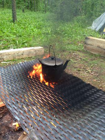 grid: Boiling on the fire pot