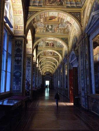 imrepator: Hermitage interiors in Saint-Petersburg  Russia Stock Photo