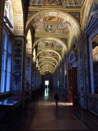 hermitage: Hermitage interiors in Saint-Petersburg  Russia Stock Photo