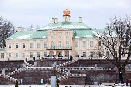 Large Oranienbaum or Menshikov Palace in Orienbaum cityin Leningrad district, Russia Stock Photo - 25902769
