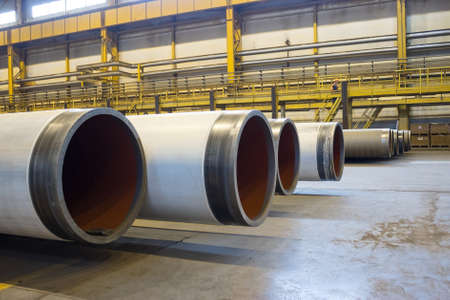 ferrous foundry: Products Pipe Rolling Plant, large diameter pipelines Editorial