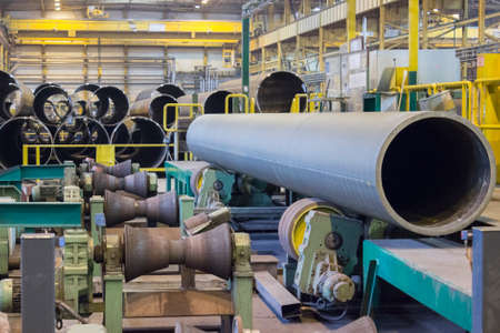 Production of large diameter pipelines at pipe rolling factory