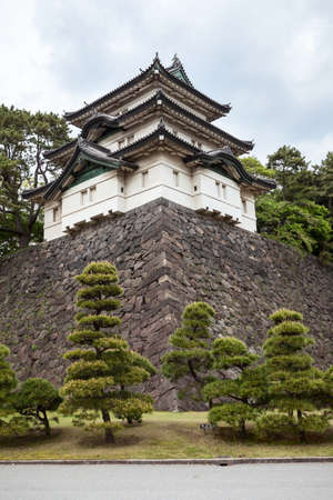 tokyo prefecture: The Fujimi-yagura three-story keep (tower) is in the inner area of Imperial Palace. The Tokyo Imperial Palace is the main residence of the Emperor of Japan