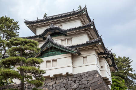 tokyo prefecture: The Fujimi-yagura three-story keep is in the inner area of Imperial Palace. The Tokyo Imperial Palace is the main residence of the Emperor of Japan
