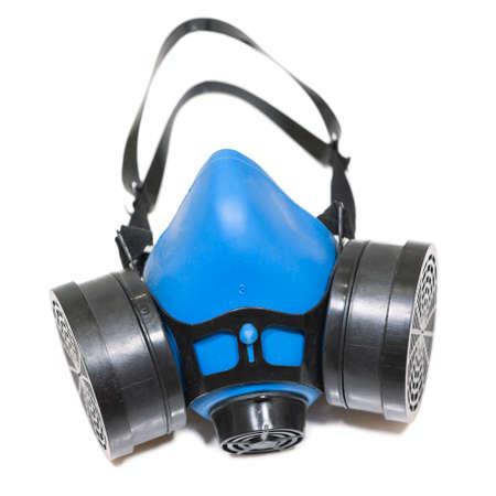 Protective breathing equipment, reusable dust respirator isolated on white background Reklamní fotografie