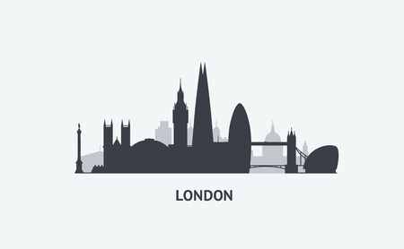 london skyline: vector graphics.