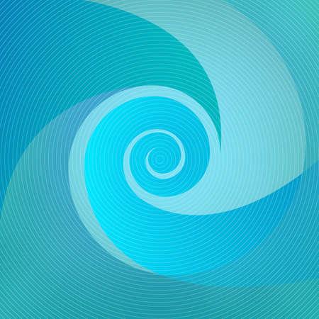 blue waves: vector graphics, modern blue background, eps 10