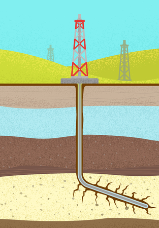 shale: vector graphics, modern colorful illustration, eps 10 Illustration