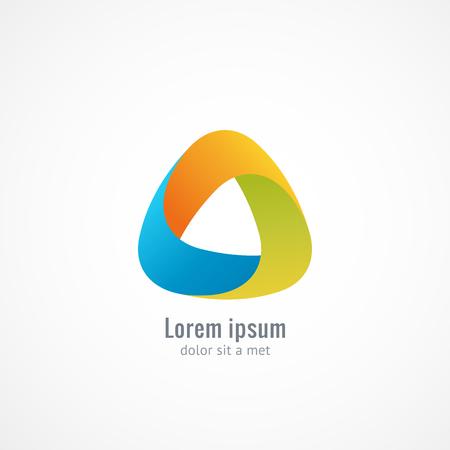 infinite shape: Corporate, Media, Technology styles vector logo design template. Infinite looped shape. Vector graphics, eps 10 Illustration