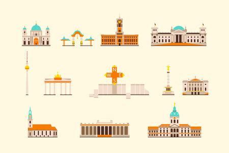 flat: Vector graphics, flat city illustration, eps 10
