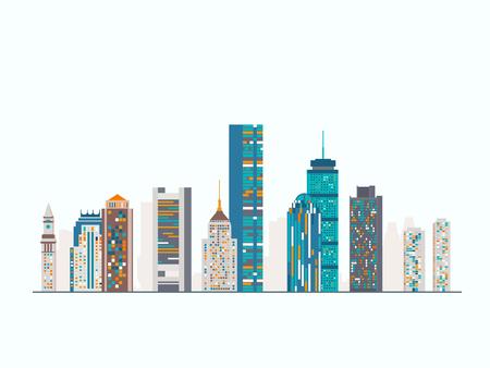 ベクトル グラフィックス、フラットな街図、eps 10 写真素材 - 49879778