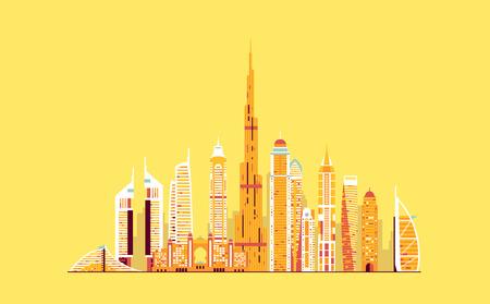 벡터 그래픽, 평면 도시 그림, 분기 EPS 10