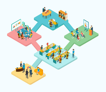 3d isometric design vector illustration, eps 10 Illusztráció