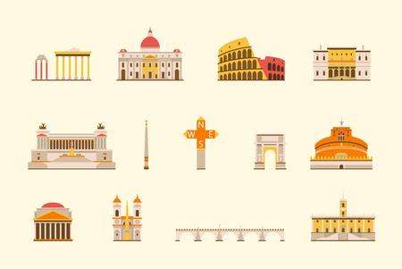 grafiki wektorowej, płaski miasta ilustracji